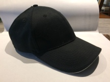 Baseball Hat (front/side), white trim