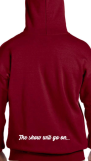 Limited Edition Red Pullover Hoodie (Back)